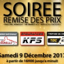 Samedi 9 décembre: Remise des prix Evo Kart