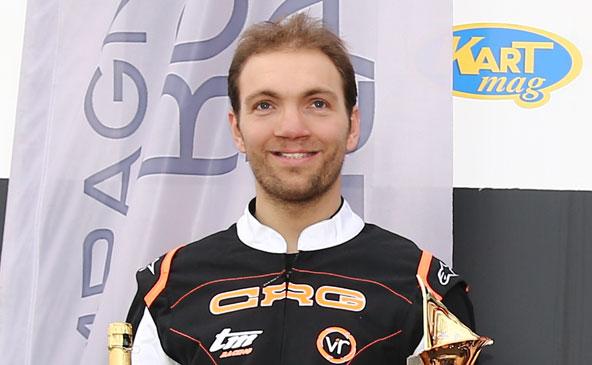 Julien Rizzetto, vainqueur en KZ2