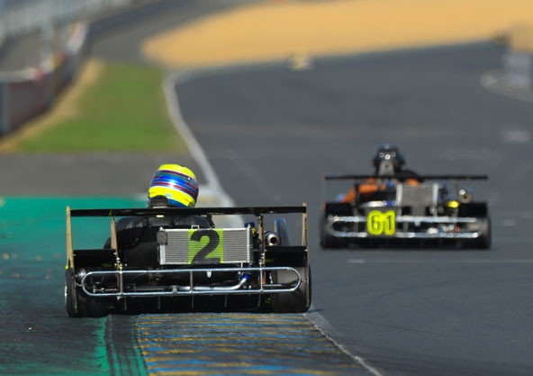 Superkart: Peter Elkmann avec panache au Mans