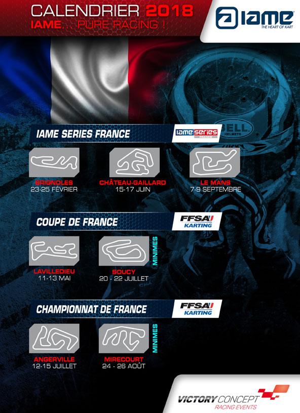 IAME-et-X30-France-Le-programme-de-la-saison-2018-1