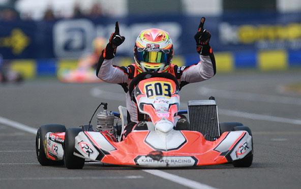Nouvelle victoire en 2017 pour Vincent Fraïsse à la Finale Internationale IAME. Après le X30 Senior, le X30 Super !