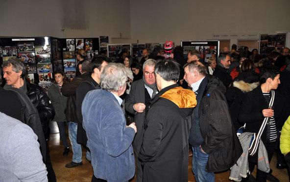 250 personnes réunies dans l'espace Pierre Peugeot à Aulnay sous Bois