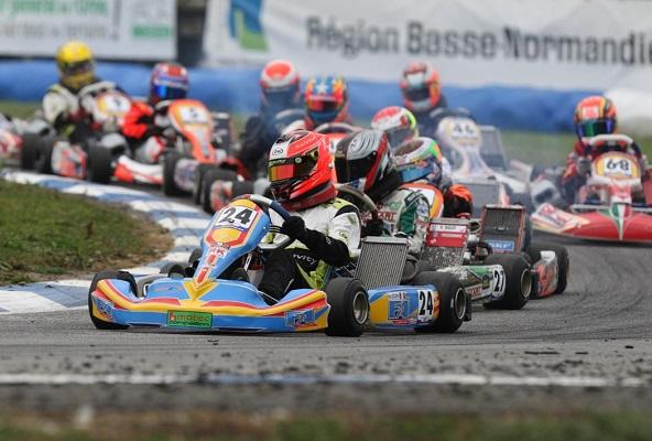 Esteban Ocon a roulé sur FA Kart lors de sa dernière saison en karting