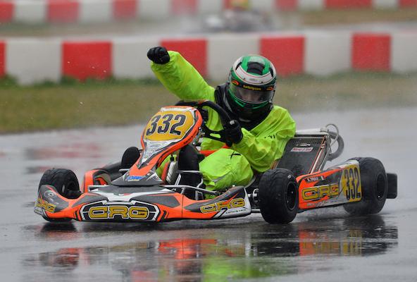 Enzo Trulli, 1er en OK-Junior