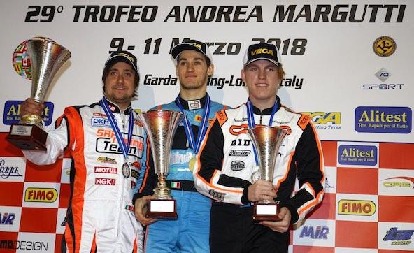 Avant d'attaquer sa saison en F3, Alessio Lorandi est venu se faire plaisir et gagner en KZ2