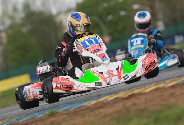 Belinois-Jac Kart, 1er en GP2