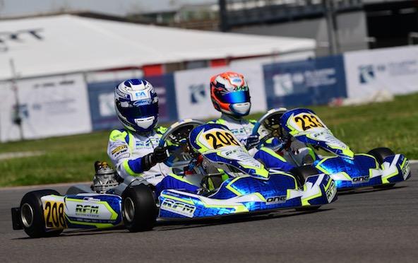 1ère et 3e places pour le team RFM