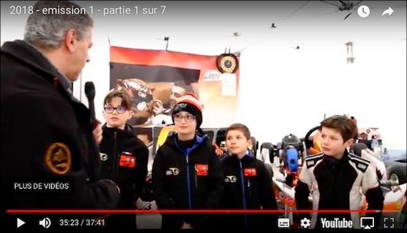 Kartingtv-fr la premiere emission de la saison 2018 est en ligne