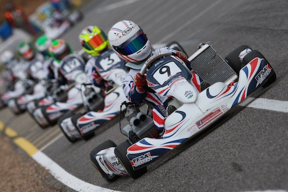 William Bertrand file vers la filiere Endurance Karting-1