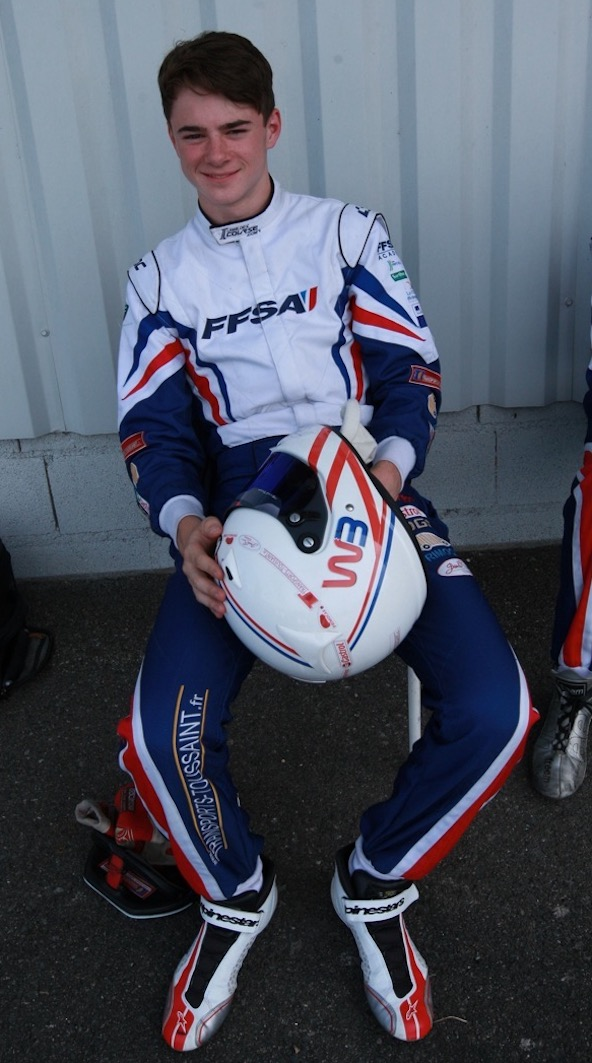 William Bertrand file vers la filiere Endurance Karting-2