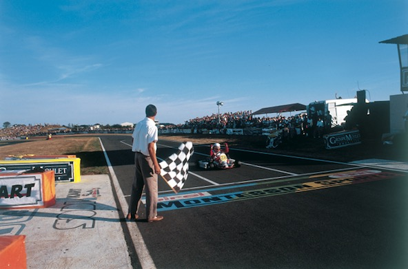 Alessandro Piccini, Champion du Monde 125/Formule C à Laval