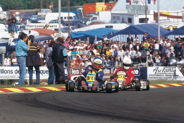 Emmanuel Collard, Champion du Monde Formule A à Laval