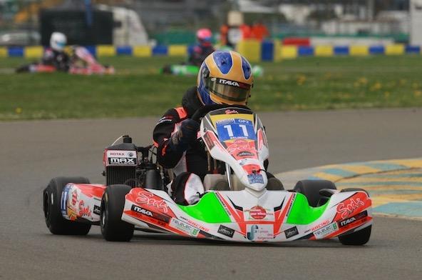 Belinois-Jac Kart, leader en GP2