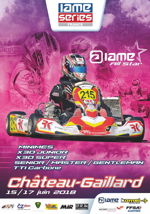 IAME Series France a Chateau-Gaillard-La presentation-2