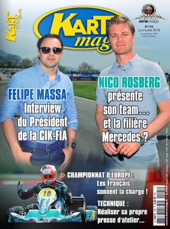Le nouveau Kart Mag numero 195 est en kiosque-couv