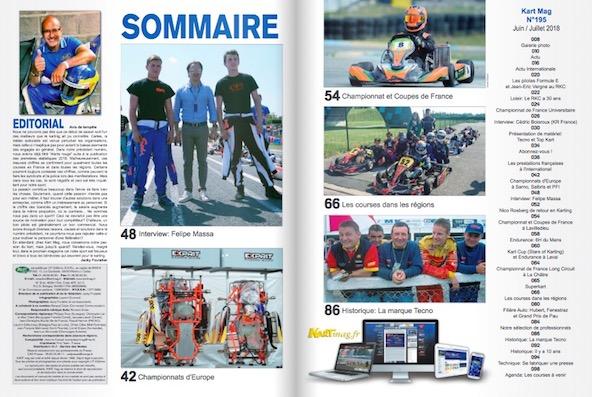 Le nouveau Kart Mag numero 195 est en kiosque