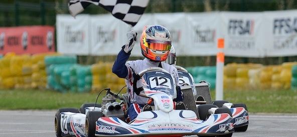 Mathéo Cochet: Un nouveau vainqueur en Junior