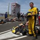 Nicolas RoiSansSac prêt pour le Trophée Kart Mag