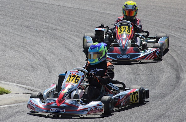 Rotax Euro Trophy-Encore un top-10 pour Andreas Hebert