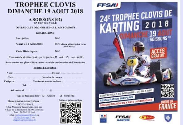 Trophee Clovis a Soissons-La course occasionnelle qui resiste