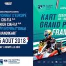 Championnat d'Europe à Essay: Horaires et engagés