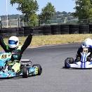 Coupe de France KFS 160: Duprez s'impose au sprint