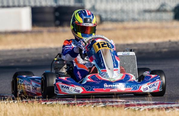 Victoire de Victor Bernier en X30 Senior