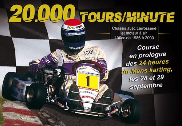 Les 20000 t-mn-Le Karting 100cc de retour en course