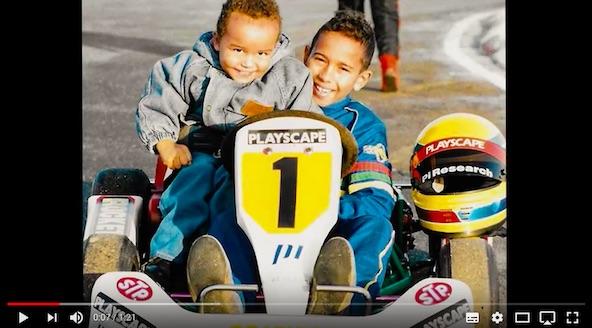 Video-Lewis Hamilton Un enfant avec un reve-1