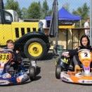 Deux jeunes de l'EFK Muret découvrent la compétition