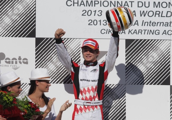 Kart Mag felicite Charles Leclerc pour sa titularisation chez Ferrari-2