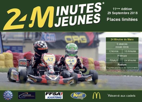 Les Cadets auront 24 minutes pour briller avant les 24H du Mans