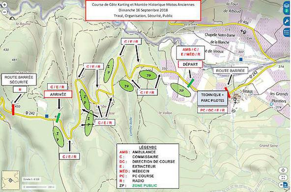 Rendez-vous sur le site Kartingcarpentras.com pour plus d'infos sur la course de côte de Veaux