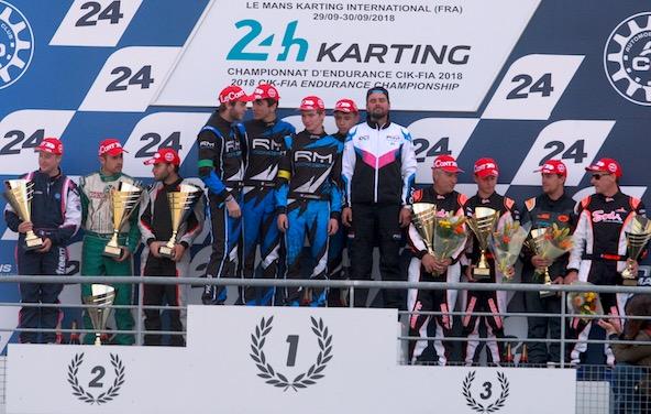 24H du Mans Karting-RM Concept decroche le Graal en GP2