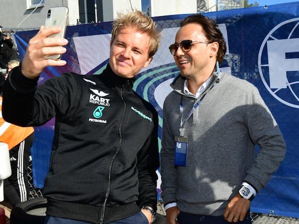 Nico Rosberg et Felipe Massa