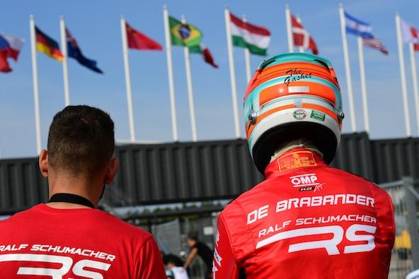 Les nouvelles couleurs du team de Ralf Schumacher