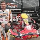 Fabian Federer et SRP Racing Team avec Maranello Kart
