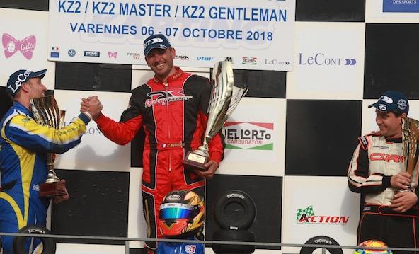 France KZ2 Master-Stephen Nuvolini prend sa revanche