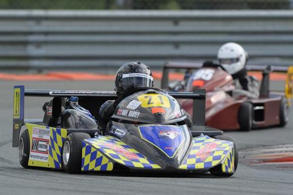Superkart-Andreas Jost sacre Champion de France