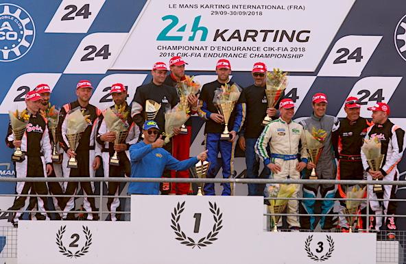 Victoire en Master pour le Team LGB aux 24 Heures du Mans