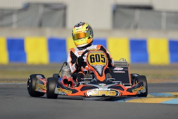 Callum Bradshaw, meilleur temps en X30 Super
