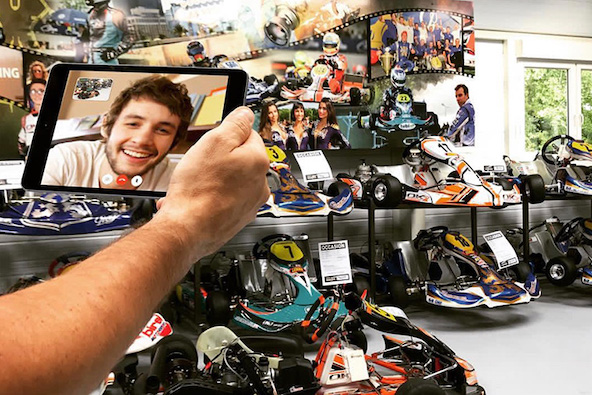 Le service commercial d Action Karting innove encore