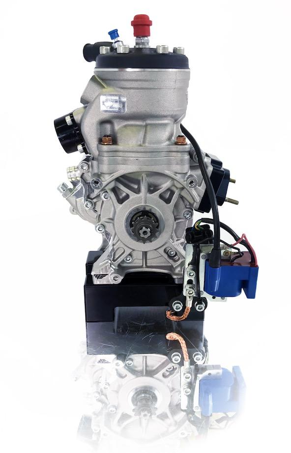 Un moteur très compact ! Ici le OK-Junior