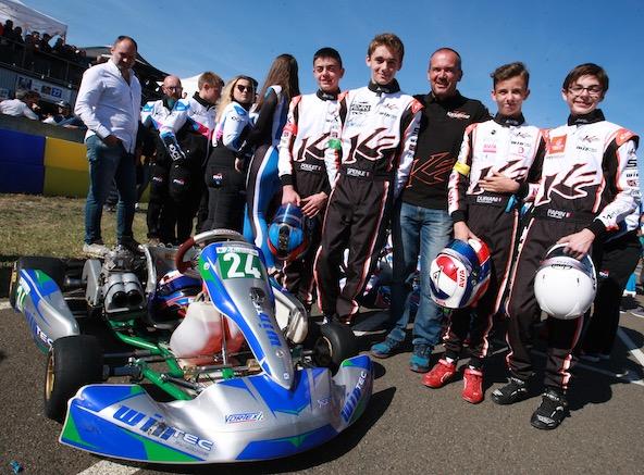 L'équipe WinTec-Kartagène managée par Marc Berteaux s'est souvent montrée performance en 2018 face au GP2