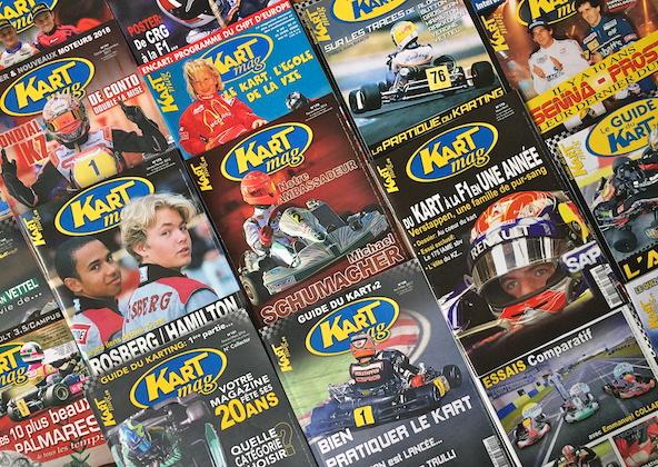 Offrez ou faites-vous offrir un abonnement Kart Mag a Noel