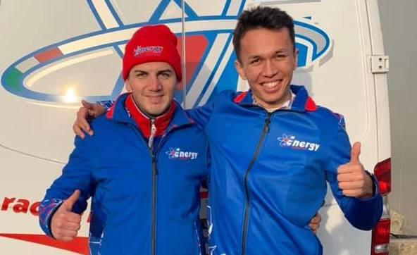 Alexandre Albon (à droite)