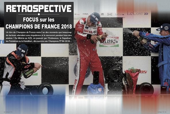Kart Mag 198 a la decouverte des Champions de France