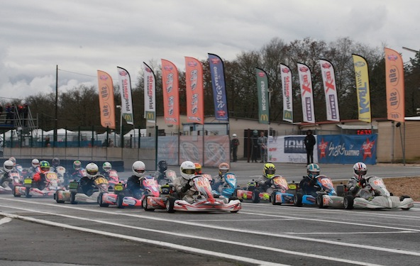 Open Kart a Salbris-La Winter Cup francaise