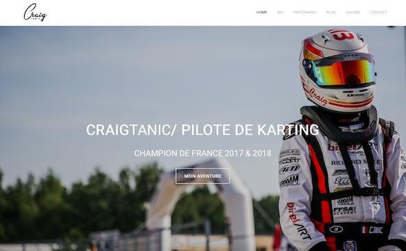 Craig Tanic presente son nouveau site internet