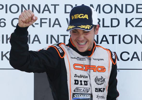 Pedro Hiltbrand en 2016, lors d'une de ses nombreuses victoires avec CRG